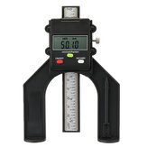Drillpro LCD Digital Slide Caliper Vernier Ruler 0-80mm Height and Depth Gauge with Magnets Router Table Saw