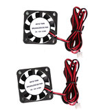 Anet® 2 Pcs 4010 40 * 40 * 10mm 12V DC Brushless Cooling Fan dengan Kawat untuk RepRap Prusa i3 DIY 3D Printer
