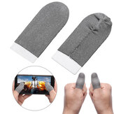 Bakeey 1 Paar atmungsaktiver Gamecontroller Finger-Touchscreen-Handschuhe Schweißresistente Gaming-Finger-Handschuhe Kratzfestes Sleeve Sensitive Nylon Mobile Touch für PUBG Mobile Game