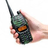 Baofeng UV-990 Walkie Talkie Triple 10W Dual PTT VHF UHF Dual Banda Ham Portable CB Radio Audio bidireccional