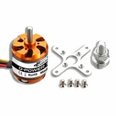 Flash Hobby D3542 1000KV 1250KV 1450KV 2-4S Brushless Motor For RC Airplane