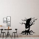 Miico FX3014 Halloween Aufkleber Cartoon Aufkleber Ghost Tree Pattern Removable Wall Stickers