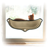 26kg Pet Cat Bed House Window-Mounted Hanging Shelf Cat Perch Seat Warm Sleeping Window Hanging Hammock