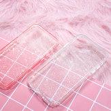 Рок Противоударный Прозрачный Soft ТПУ + Жесткий ПК Bling С блестками Блестящий Телефон Защитный Чехол для iPhone 11 Pro Макс 6,5 дюймов