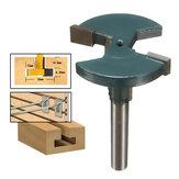 1/4 inch rechte schacht T-sleuf freesbit T-track houtbewerkingsfrees