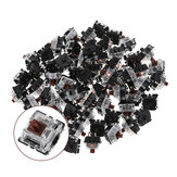 120PCS Pack 3Pin Gateron Brown Tátil Switch Keyboard Switch para Mecânico Gaming Keyboard