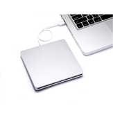 USB 3.0 External DVD Burner Ultra-thin External CD/DVD Player Optical Drive for PC Laptop Windows