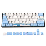 MechZone 72 Keys Penguin Keycap Set OEM-Profil PBT Sublimation Keycaps für mechanische Tastatur