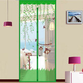 Summer Anti Mosquito Net Door Curtain Mesh Door Insect Fly Bug Net Magnetic Netting Mesh Screen