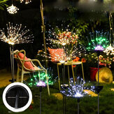Solar Firework String Light 90/120/150 LED Lamp Outdoor Garden Party Decoration