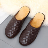 Men's Comfy Warm Mules Home Indoor Casual Slip On Slippers
