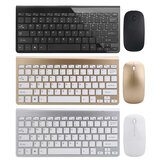 Ultra Tipis 2.4GHz Wireless Keyboard dan 1200DPI Wireless Ultra Thin Mouse Combo Set dengan USB Receiver Untuk Komputer PC