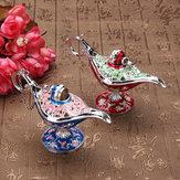 Flor do vintage Curvando Aladdin Lâmpada Gênio Mágico Lâmpada Desejando Lâmpada Coleção Conto de Fadas Lâmpada Decorações