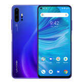 UMIDIGI F2 Global Bands 6,53 tommer FHD + Android 10 NFC 5150mAh 48MP Quad Rear-kameraer 6 GB 128 GB Helio P70 4G Smartphone