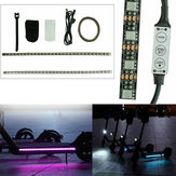 1M RGB LED Strip Light Bar lampada per M365/M365 Pro Scooter elettrico
