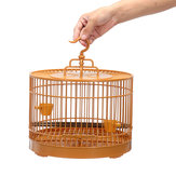 Pet Bird Cage Perroquet Volière Canari Hanging Feed Perch Portable Holder Nest Home Bird Net