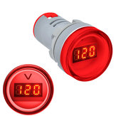 10pcs Red 22MM AD16 AD16-22DSV Type AC 60-500V Mini Voltage Meter LED Digital Display AC Voltmeter Indicator Light/Pilot Lamp 110V 220V