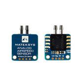 Matek Systems Sensore analogico di velocità dell'aria ASPD-7002 Controllore di volo per velivolo RC con ala fissa