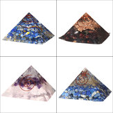 Pyramid Crystals Gemstone Meditation Yoga Energy Healing Stone Home Decoration