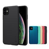 Nillkin fosco escudo à prova de choque pc rígido de volta Caso de proteção para iphone 11 6.1 polegadas