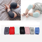 1 Pair Infant Toddler Baby Anti-slip Elastic Knee Pad Crawling Safety Protector Leg Cushion