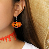 Funny 3D Stereoscopic Halloween Resin Cartoon Earring