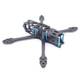 Strech X5 V2 220mm Wheelbase 5.5mm Arm 3K Carbon Fiber 5 Inch Frame Kit with 3D Print TPU Antenna Mount for RC Drone FPV Racing