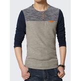 Casual Half Sleeve O-Neck T-shirt