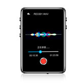 IQQ X62 8GB bluetooth 5.0 Lossless MP3 Player Built-in Speaker External Sound Support FM Radio Recording E-book Alarm Clock