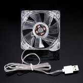 DC 5V Mini Mute USB Cooling Fan for Fish Tank Cooling Router Set-top Box Cooling Fan 8cm
