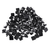 100pcs Momentary Tactile Push Button Switch 12x12x7mm