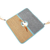 Placa de arranhão de gato Post Pet Scratcher Pad Escova Furniture Scratch Sisal Mat