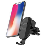 BlitzWolf® BW-CW1 10W 7.5W 5W Rotazione a 360 ° Qi Caricabatterie wireless Supporto per telefono per auto Morsetto automatico per iPhone 11 Pro XR X per iPhone 12 12 Mini 12 Pro Per Samsung Galaxy Note 20 Xiaomi Mi9 Mi10 Huawei Mate 40 Pro