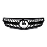 Car C63 AMG Style Front Upper Grille Grill For Mercedes C Class W204 C180 C200 C300 C350 2008-2014