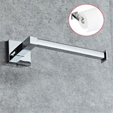 Stainless Steel Silver Toilet Roll Paper Towel Holder Shelf Wall Mounted Bathroom Rack