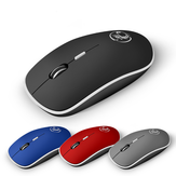 APEDRA G-1600 2.4GHz Wireless 1600DPI Mouse ricaricabile Muto Design ergonomico per ufficio