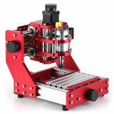 Rojo13103ejesMiniDIY Enrutador CNC Husillo estándar motor PCB Madera Metal Láser Máquina de grabado Fresadora Grabadora Carpintería