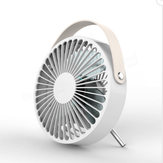 Portable USB  Desktop White Mini Cooling Fan for Home Office