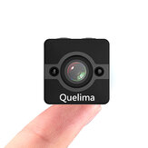 Quelima SQ12 Mini 1080P FHD Auto DVR-camera 155 graden FOV Loop-cyclus opname Nachtzicht