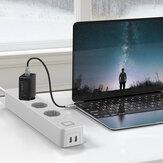 BlitzWolf® BW-SHP9 3300W 15A 3 Разъем Два порта USB Smart Power Strip Приложение EU Plug Дистанционное Управление Таймер Работа с системой голосового управления Amazo