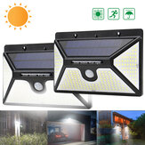 ARILUX 218 LED Energia solar PIR Movimento Sensor Luz de parede Luz de jardim ao ar livre à prova d'água