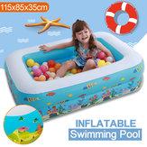 Natação inflável Piscina Família Play Center Swim Bebê Crianças Criança Quintal Jardim