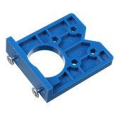 35mm ABS Conjunto de ferramentas para perfuração de orifício de dobradiça Localizador de gabarito de perfuração posicionador de molde