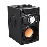 Bezprzewodowy głośnik Bluetooth Przenośny odtwarzacz muzyki Mocny bas Stereo Surround Sound FM TF AUX Pilot USB