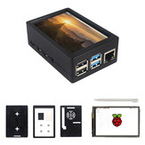 Touch screen da 3,5 pollici TFT 480 * 320 50FPS Display ABS Kit custodia per Raspberry Pi 4 Model B