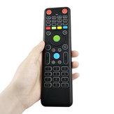 TZ18 2.4GHz 6-axis Gyro Air ratón Mini Wireless Teclado Handheld de doble cara Control remoto Sensor para TV Caja PC