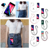 Bakeey Transparent Shockproof With Drawstring Necklace Rope Protective Case For Xiaomi Redmi Note 7 / Redmi Note 7 Pro