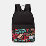 Large Capacity Minimalist Printed Backpack For Men And Women