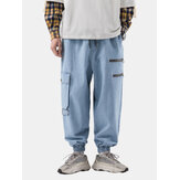 Mens New Fashion Casual Loose Plus Size Handsome Retro Jeans Pants