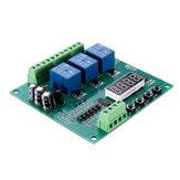 YYS-4 Modulo di controllo relè programmabile a 3 canali Ritardo trigger / Timer / Autobloccante / Scheda relè interruttore di blocco